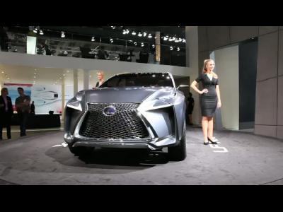 Francfort 2013 - Lexus LF-NX