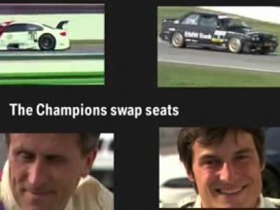 Deux champions de DTM s'échangent leur monture.