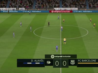 Deportivo Alavés - FC Barcelone sur FIFA 20 : résumé et buts (Liga - 38e journée)