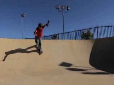 Tommy Caroll, Skateur Et Aveugle