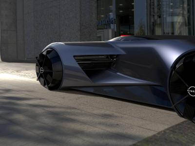 Nissan GT-R (X) 2050 : le concept du futur en vidéo