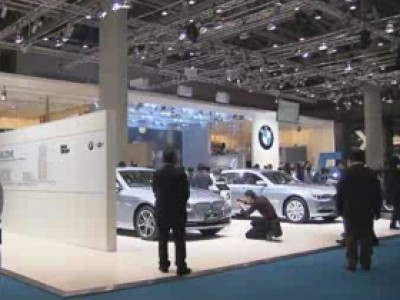 Tokyo 2011 : le stand BMW