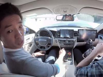 L'impressionnant crash d'une voiture autonome en vidéo