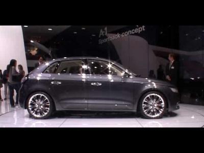 Reportage Audi A1 Concept