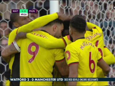 Watford - Manchester United : les Hornets terrassent les Red Devils