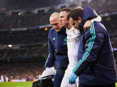 Real Madrid : l'historique des blessures d'Eden Hazard