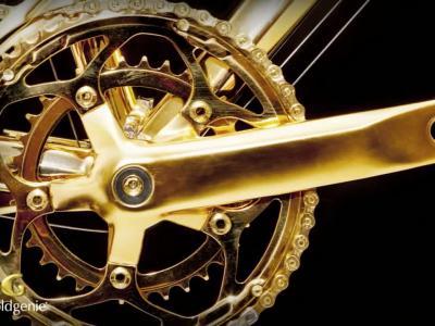 Goldgénie, le vélo en or