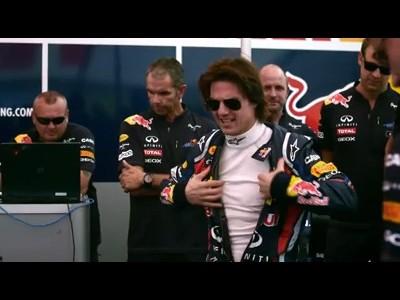 Tom Cruise teste une Formule 1
