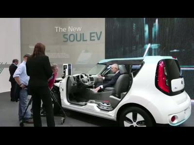 Genève 2014 : Kia Soul EV