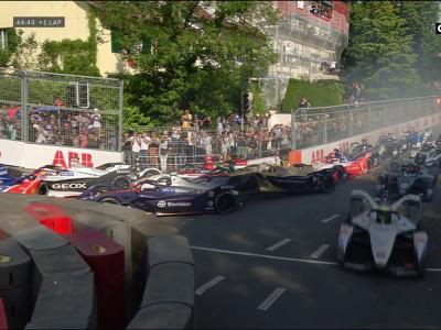 Formule E : l'énorme carambolage au E-Prix de Berne