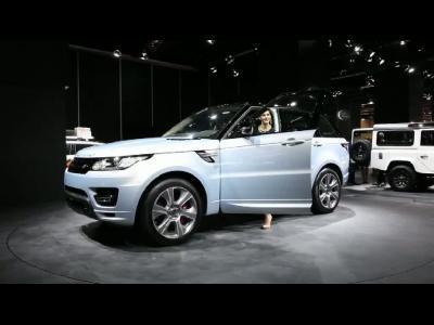 Francfort 2013 - Range Rover Sport Hybrid