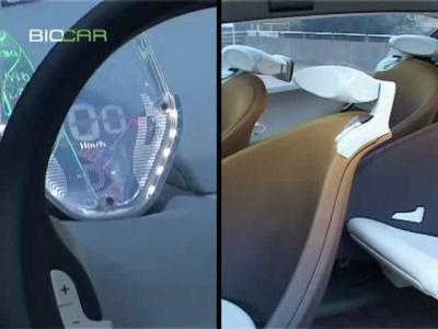 Le Concept Renault Ondelios à la Défense pour BioCar !
