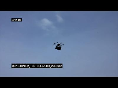 Des drones livreurs de pizzas