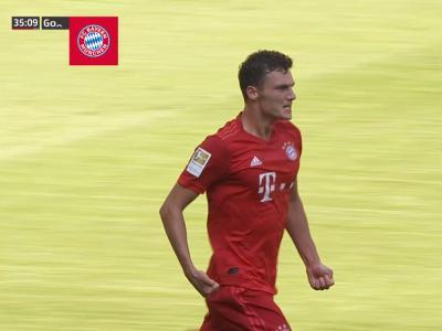Bundesliga - Bayern Munich : Second poteau Pavard !