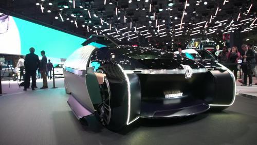 Mondial de l'Auto 2018 : la limousine Renault EZ-ULTIMO en vidéo