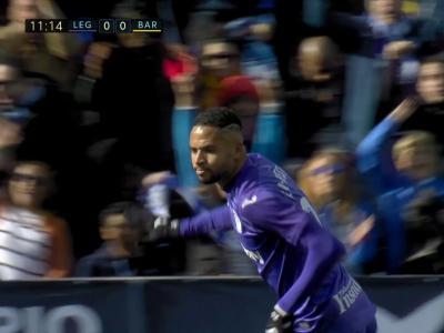 Liga : Le bijou de Youssef En-Nesyri face au Barça !