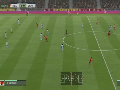 RC Lens - Le Mans FC sur FIFA 20 : résumé et buts (L2 - 38e journée)