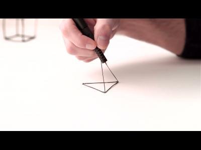 Le LiX 3D, un crayon d'artiste
