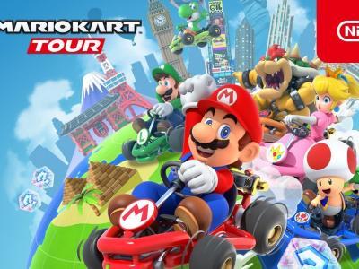 Mario Kart Tour : le trailer de la verrsion iOS et Android