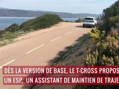 Volkswagen T-Cross : découverte du SUV en vidéo