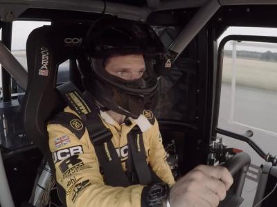 JCBWFT : record du monde de vitesse... en tracteur