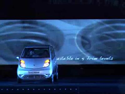 Lancement de la Tata Nano
