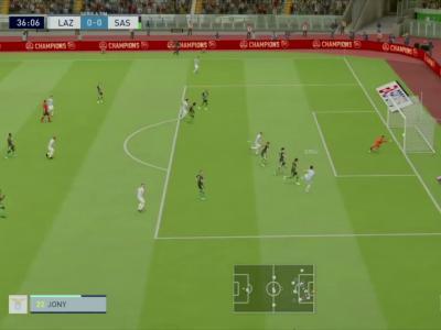 Lazio Rome - U.S. Sassuolo sur FIFA 20 : résumé et buts (Serie A - 32e journée)