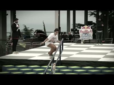 Finale du Red Bull skate Arcade