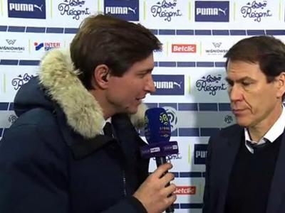 """OL - Garcia : """"Un plaisir de voir mon équipe jouer comme ça"""""""