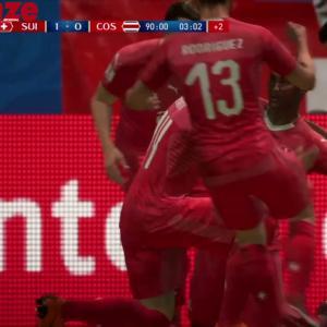 Suisse - Costa Rica : notre simulation sur FIFA 18