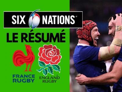 France - Angleterre : résumé et essais du match en vidéo