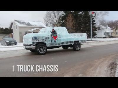 Insolite:le Ice Truck, pick-up éphémère