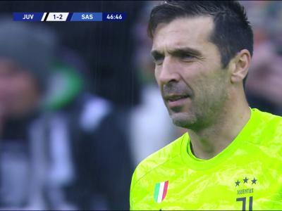 Juventus - Sassuolo : le but gag encaissé par la Juve !