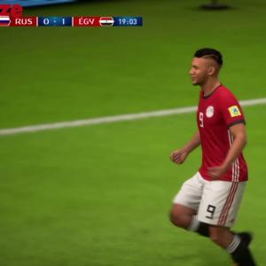 Russie - Egypte : notre simulation sur FIFA 18