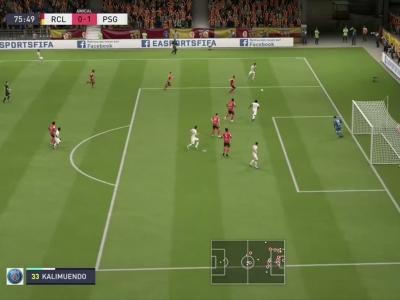 L1 - 2e journée : notre simulation FIFA 20 de RC Lens - PSG