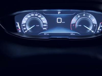 Peugeot détaille l'intérieur du futur 3008