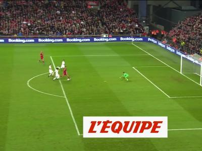 Le but du Danemark face à la Suisse - Foot - Qualif. Euro