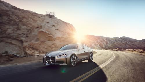 BMW Concept i4 : le Coupé 4 portes 100% en électrique