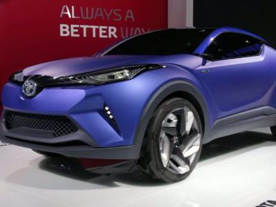 Mondial Auto 2014 : Toyota C-HR