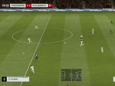 SC Paderborn 07 - Borussia M'Gladbach sur FIFA 20 : résumé et buts (Bundesliga - 33e journée)