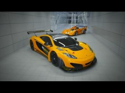 McLaren GT en puissance
