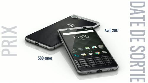 BlackBerry KEYone : tout savoir sur le smartphone au clavier physique