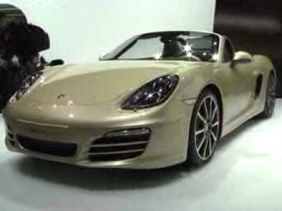 Genève 2012 : Porsche Boxster (type 981)