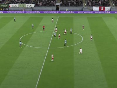 AC Ajaccio - FC Chambly Oise sur FIFA 20 : résumé et buts (L2 - 34e journée)