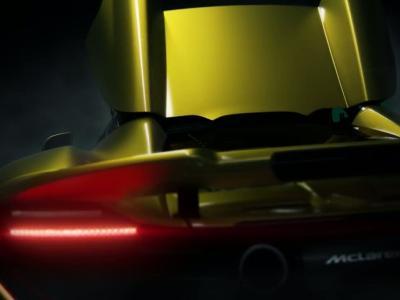 McLaren 675LT Spider : pistarde au grand air