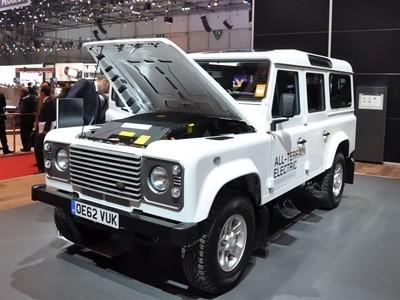 Genève 2013 : Land Rover Defender électrique