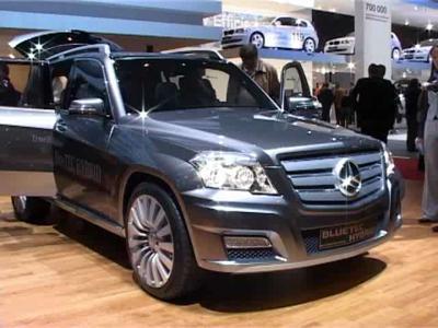 Reportage Mercedes GLK Hybrid