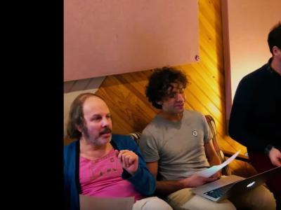 "Doriand ""Danser entre hommes"" featuring Katerine & Mika"
