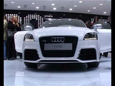 Reportage Audi TT RS