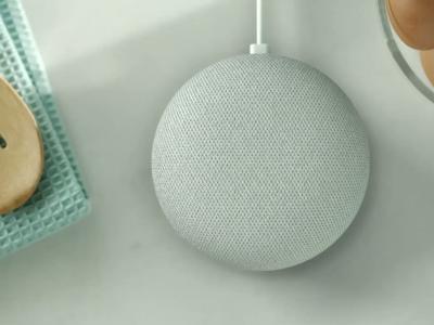 Google Home Mini : vidéo officielle de présentation de l'enceinte connectée